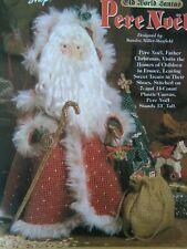 PERE NOEL-Old World Santa-Plastic Canvas PATTERN-Christmas-Home Decor