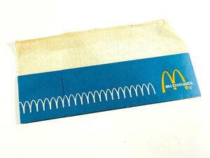 Vintage McDonald's Employee Paper Hat fast food ephemera