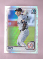 2020 Bowman Chrome Draft ANTHONY VOLPE Refractor Card New York Yankees Mint