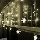 3M*3M 300 LED Indoor Outdoor Curtain Fairy Light String Xmas Wedding Party Decor