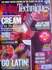 Tecniche di chitarra RIVISTA & CD: novembre 2012