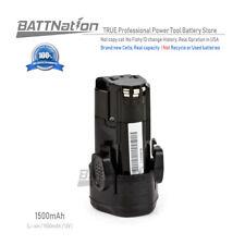 12V MAX Lithium-Ion Battery for Black &Decker LDX112 LDX112C PSL12 BDCDMT112