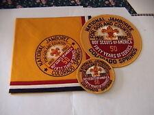 1960 National Jamboree jacket & pocket patches & neckerchief