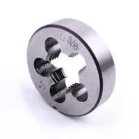 1 PC G3/8 HSS Threading Die High Speed Steel Hole Diameter for Water Pipe Thread