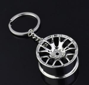 NEW Car Parts Key Chain Engine Turbocharger Key Ring Pendant Metal Keychain28451