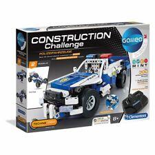 Clementoni 59144 - Galileo Science - Construction Challenge - RC Polizeiwagen