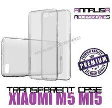 COVER TRASPARENTE PER XIAOMI M5 MI5 CUSTODIA SILICONE TPU TRANSPARENT CASE