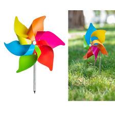 3 Pc Wind Mills Yard Decoration Windmill Flower Spinner Garden Decor Colorful