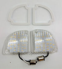 Pair 67-72 Chevy GMC Truck Fleetside LED Reverse Lights Backup Lamps w/ Gaskets