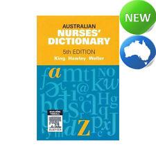 Australian Nurses' Dictionary by Rhonda Hawley, Jennifer King (Paperback, 2012)