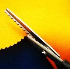 2 PCS Fabric Decorative Edge Pinking Shears Scissors Scallop cut 5mm and 7mm