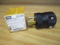 Hubbell HBL4723VBK Valise Twist-Lock Plug