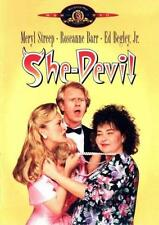 SHE-DEVIL 1989  Meryl Streep, Roseanne Barr, Ed Begley Jr. ALL REG  DVD