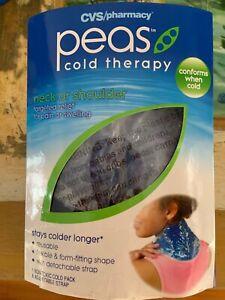 CVS peas NECK & SHOULDER Cold Therapy Gel WRAP w/ Adjustable Strap Brand New!