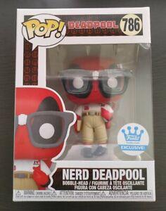 Funko Pop Nerd Deadpool #786 Shop HQ Exclusive
