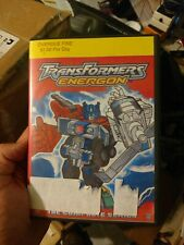 TRANSFORMERS ENERGON COMPLETE SERIES  7 DVD Set ONE DVD IS CRACKED free USA ship