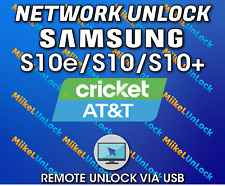 Network Unlock Service SAMSUNG S10e S10 S10+ ATT Cricket Xfinity - Remote by USB