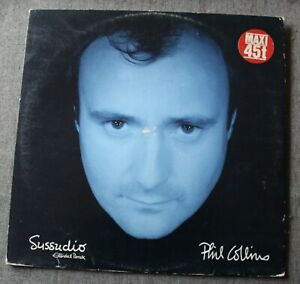 Phil Collins, sussudio, Maxi Vinyl