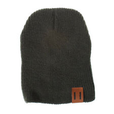 New Winter Warm Mom&Newborn Kid Boy Girl Knited Woolen Headgear Beanie Cap Hat
