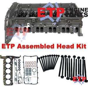 Assembled Cylinder Head Kit suits P5 3.2L Diesel in Ford Ranger and Mazda BT-50