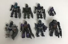 Halo Mega Bloks Construx Mini Figures And Weapons Lot Of 8