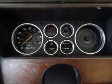 Dash Ring Bezels - 6 pcs - 1978-88 Monte Carlo El Camino Malibu - Made In USA