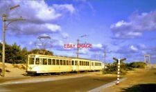 PHOTO  SNCV BELGIAN COASTAL TRAMWAY AT DE PANNE