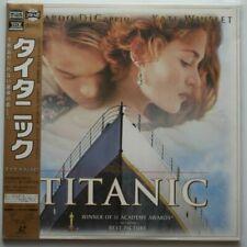Titanic - Japanese Laserdisc - RARE + OBI Strip
