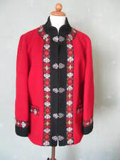A.S evebofoss Veste norvégiens Motif traditionnellement Mignon Rouge Taille 42 XL (s19)