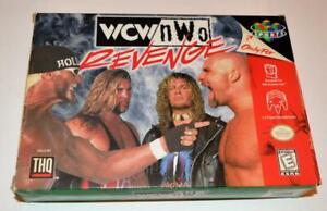 BOX ONLY WCW/NWO REVENGE NINTENDO 64 ORIGINAL N64