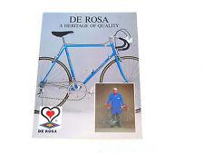 Derosa Bicycle catalog professional SLX Brochure Vintage BIKE CAMPAGNOLO NOS