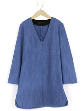 Zara Womens Mid Blue Denim Dress EUR Size M (UK Size 12/14)