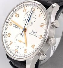 IWC PORTUGIESER CHRONOGRAPH 2020 Collection 41 mm Watch - IW371604 BRAND NEW !