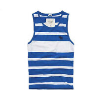 NEW ABERCROMBIE & FITCH A&F MENS GUYS MUSCLE FIT T SHIRT TANK TOP CREW TEE SZ XL