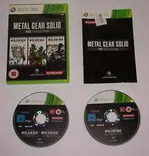 Metal Gear Solid Hd Collection. versión PAL, Microsoft Xbox 360. usado.