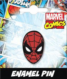 Marvel Comics Spider-Man Face Enamel Pin 51041MV