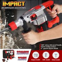 2200W Demolition Rotary Jack Hammer Impact Drill Electric Concrete Breaker