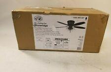 Hampton Bay 52 in. Bronze Hugger LED Ceiling Fan w/ Light Model 51825