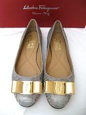 Salvatore Ferragamo Shoes / Flats. Size 5C. Retail $895. NIB