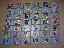 VARIOS NINTENDO 64 N64 Juegos Multi Listado Lote Selección Versión Pal