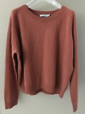 NWT $320 VINCE FIG 100% Cashmere Sweater Size M