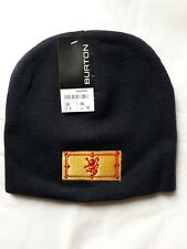 714e33d56fe Navy Scottish Lion Embroidered Design Red   Yellow Beanie Hat NWT Winter  Comfort