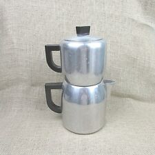 Vintage Kitchen Craft Drip/press stove top 8 cup  Coffee Maker Pot Made in USA