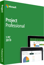Microsoft Project Professional 2019 Genuine Product Key Online activation
