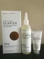 New In Box Olaplex No 0 & No 3 Intensive Bond Building Hair Treatment Kit