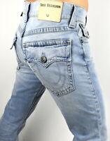 True Religion Men's Ricky Relaxed Straight Light Energy Jeans - 101741 Sz 40x34