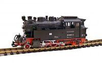 Train Funk Akku Dampflok BR 996001-4,  Zusatzgewicht, 5 LGB Metall-Radsätze, Spu
