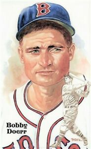 BOBBY DOERR  Perez-Steele Hall Of Fame Postcard - FREE SHIPPING
