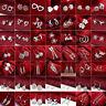 Fashion Women's 925 Filled Silver Ear Stud Dangle Hoop Drop Earrings Jewelry