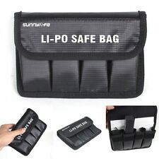 Portable Lipo Battery Safe Bag Fire Proof Fiber Carry Pouch For DJI OSMO/OSMO